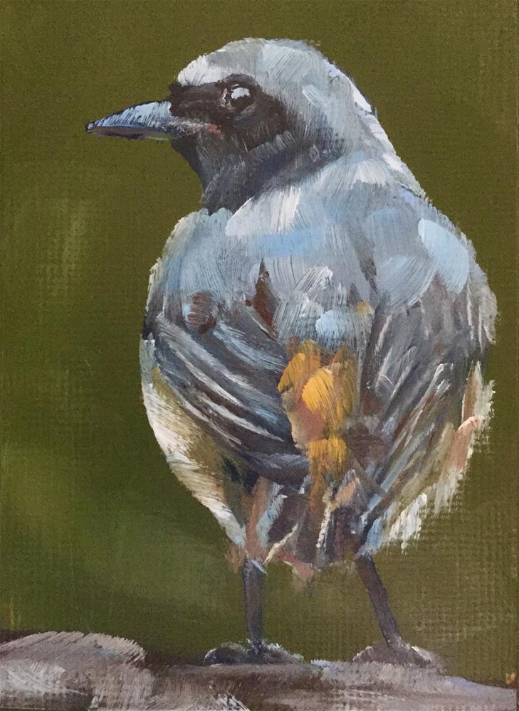"""""""Flycatcher"""" original fine art by Gary Bruton"""