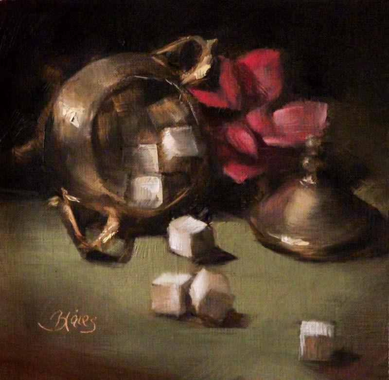 """Sugar in Silver"" original fine art by Pamela Blaies"