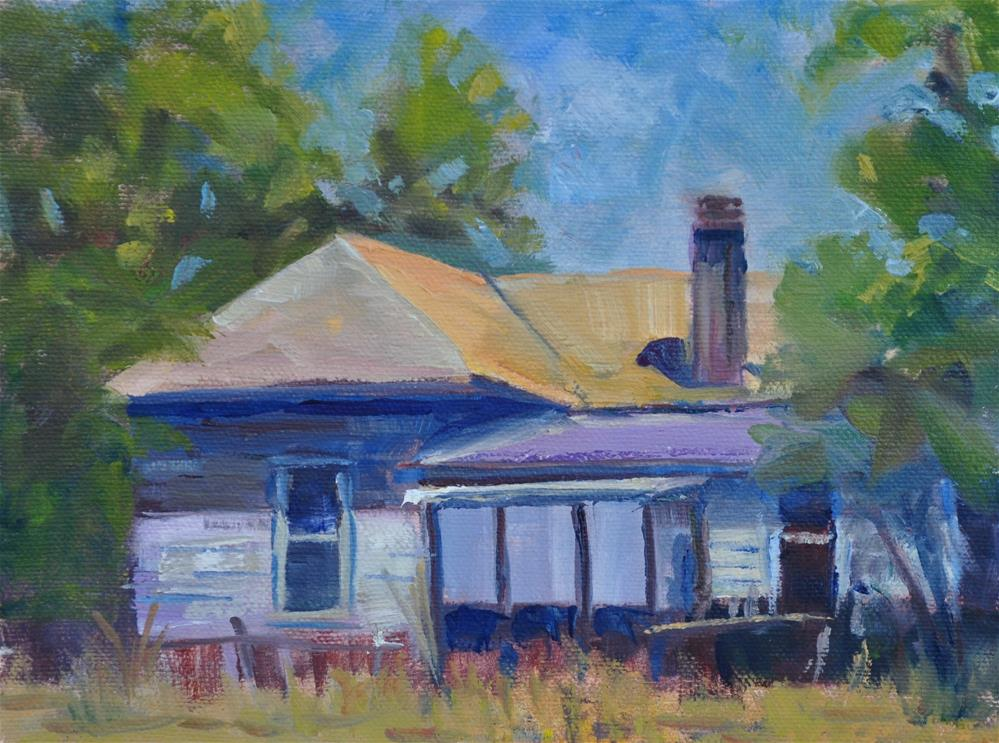 """High Noon"" original fine art by Catherine Crookston"