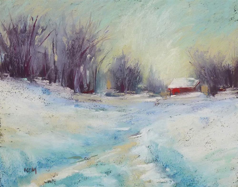 """""""My Favorite Color Tool"""" original fine art by Karen Margulis"""