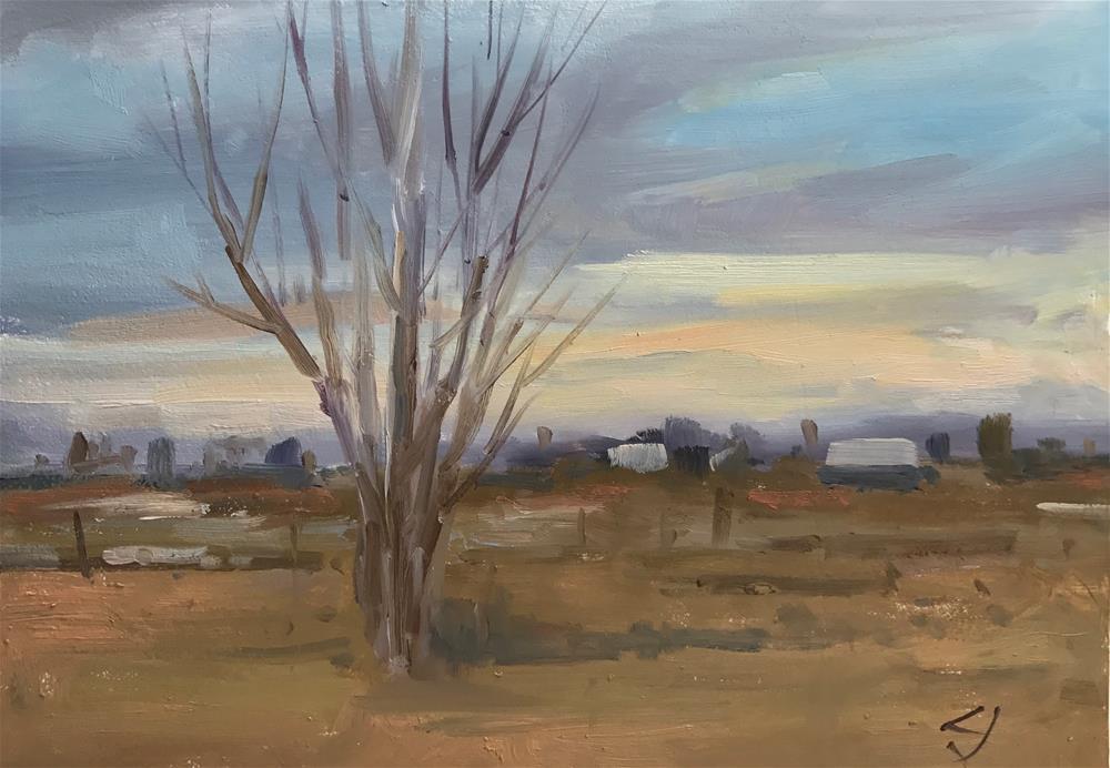 """""""55 No Wind Wednesday"""" original fine art by Carol Johansen"""