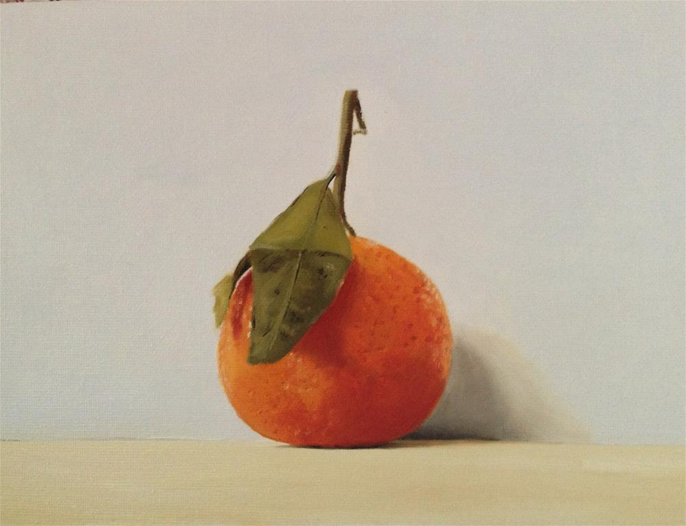 """Another Orange"" original fine art by James Coates"