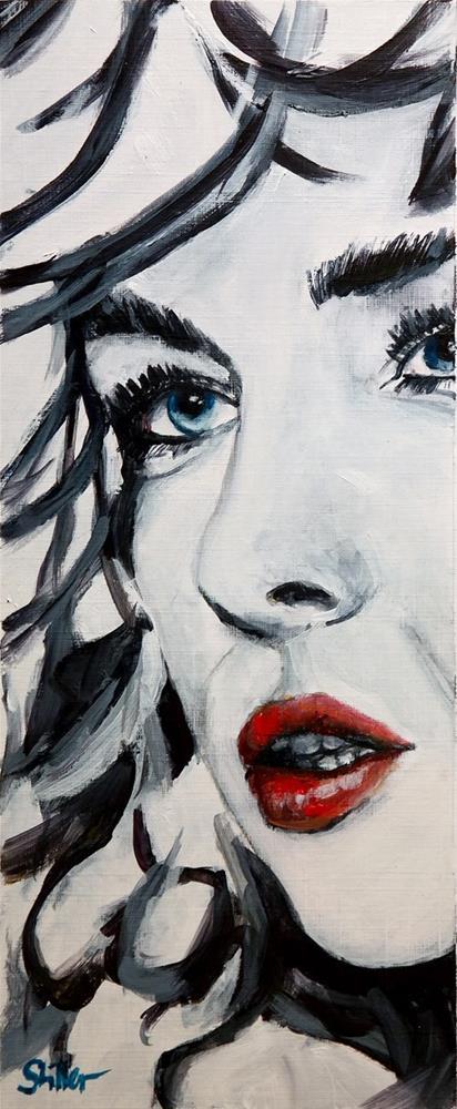 """2302 Louise"" original fine art by Dietmar Stiller"