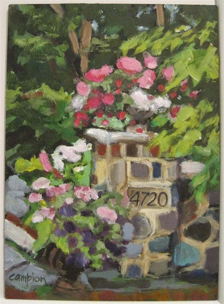 """437 Forty Seven Twenty"" original fine art by Diane Campion"