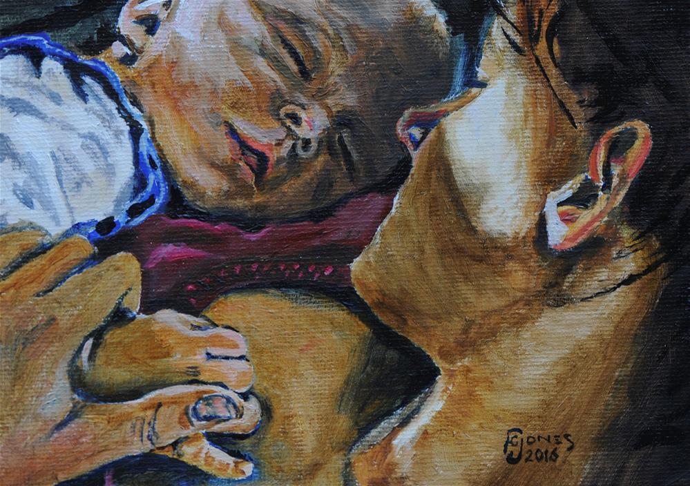 """""""Truce"""" original fine art by Fred Jones"""