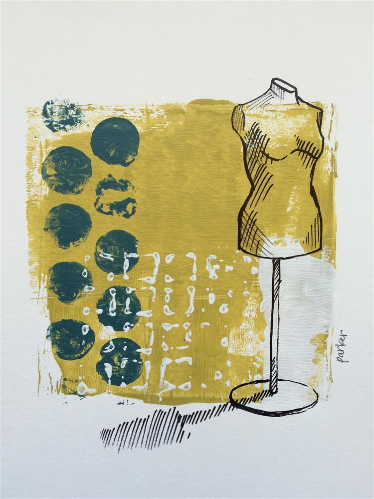 """Seamstress Mannequin Print"" original fine art by Teddi Parker"