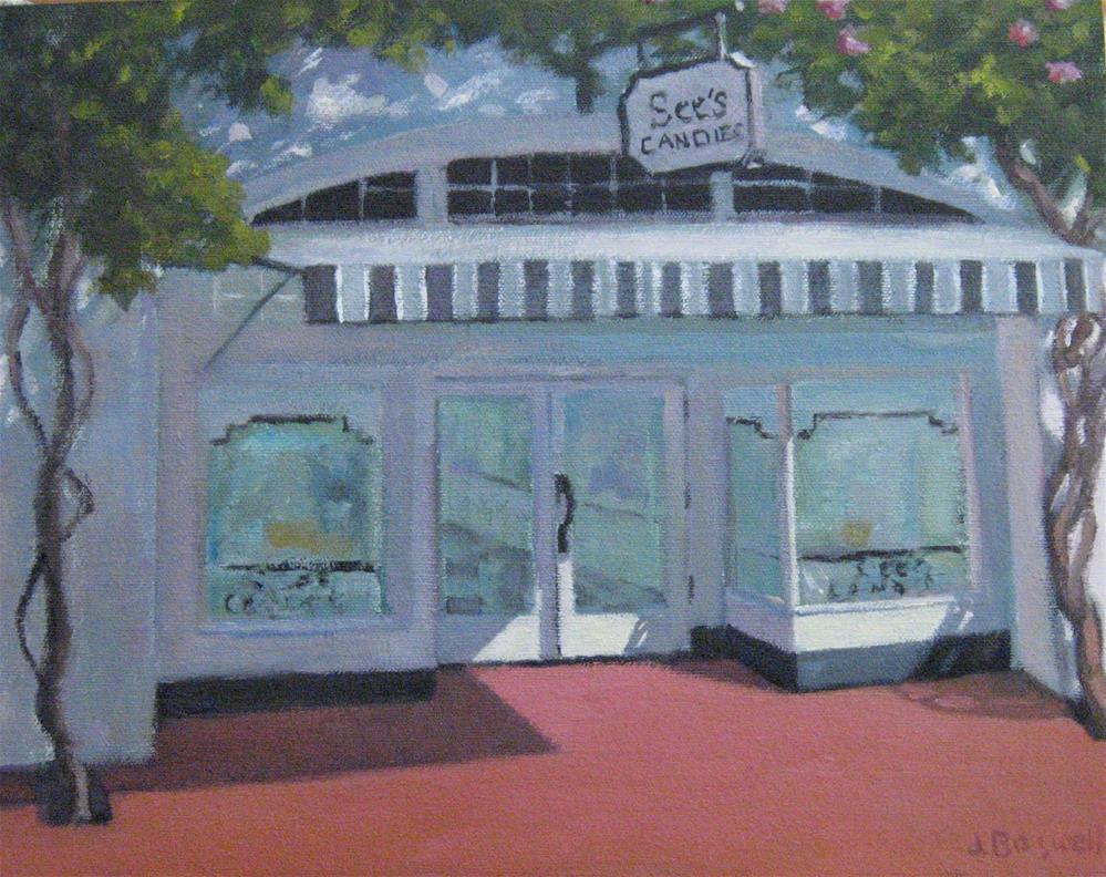 """Candy Shop"" original fine art by Jennifer Boswell"