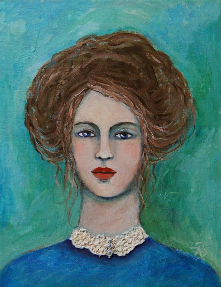 """Camille"" original fine art by Roberta Schmidt"