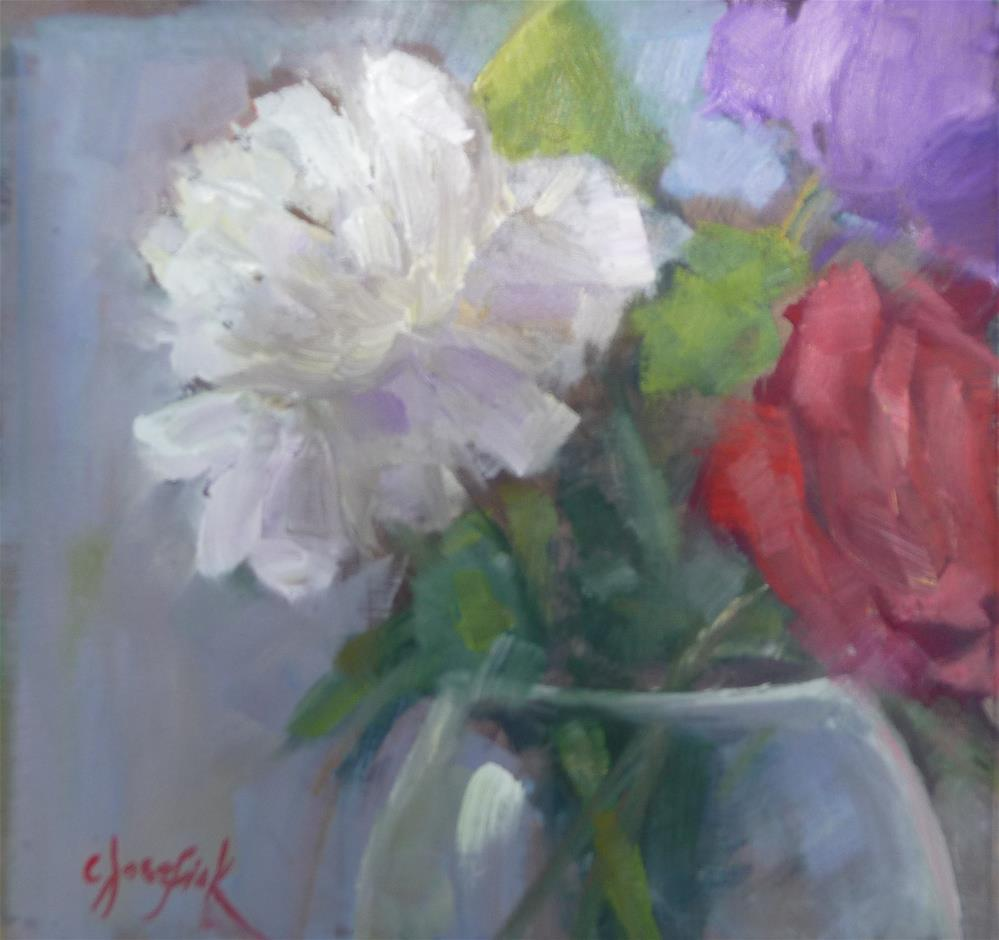"""More from the Garden"" original fine art by Carol Josefiak"