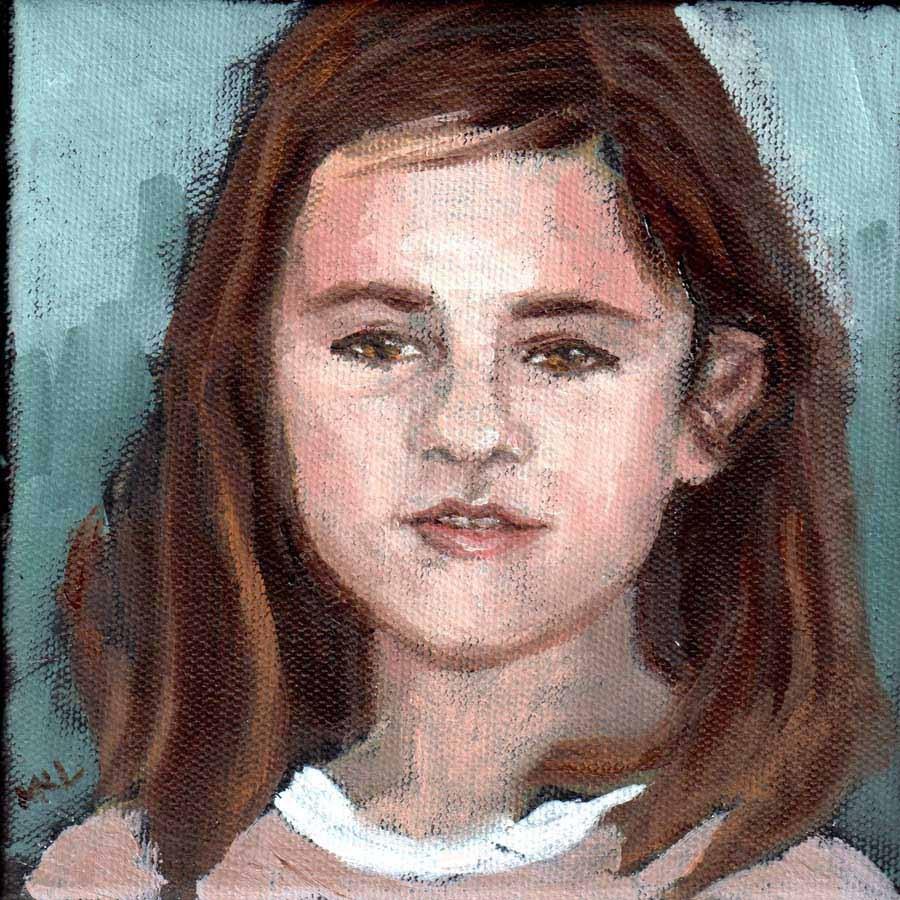 """""""Teen"""" original fine art by Marie Lynch"""