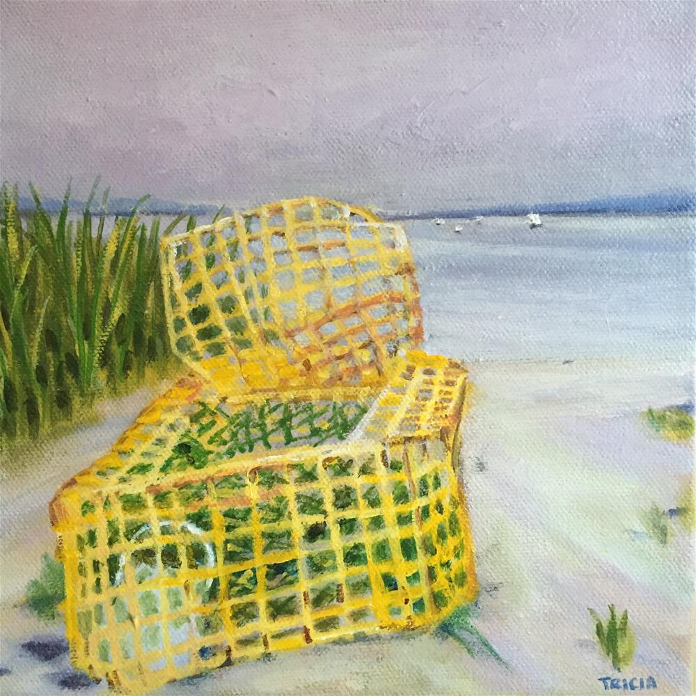 """Washed Ashore"" original fine art by Tricia Granzier"