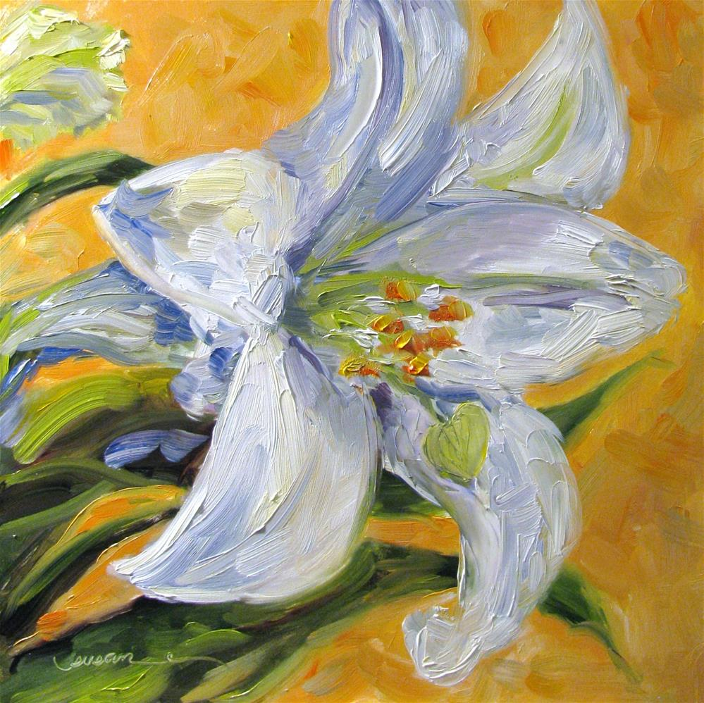 """The Easter Lily"" original fine art by Susan Elizabeth Jones"