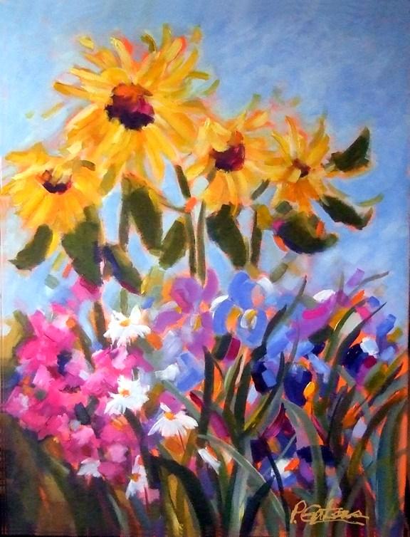 """Summer Sampler"" original fine art by Pamela Gatens"