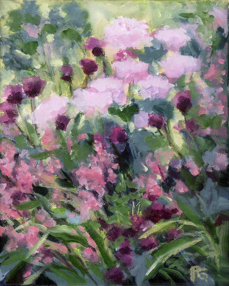 """""""Rose Meadow"""" original fine art by Pamela Gatens"""