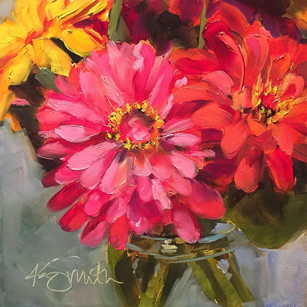 """""""happy"""" original fine art by Kim Smith"""