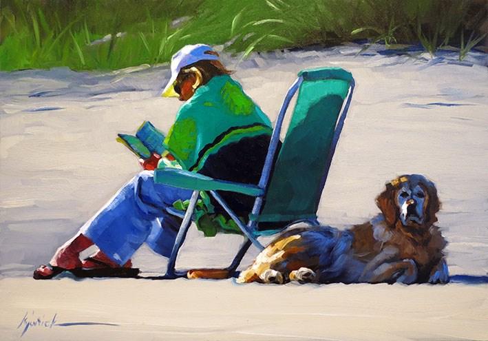 """""""The Golden Hour"""" original fine art by Karin Jurick"""
