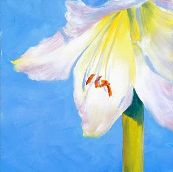 """Belle"" original fine art by Brenda Ferguson"