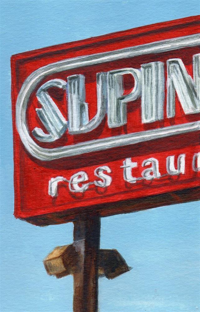 """Supinos"" original fine art by Debbie Shirley"