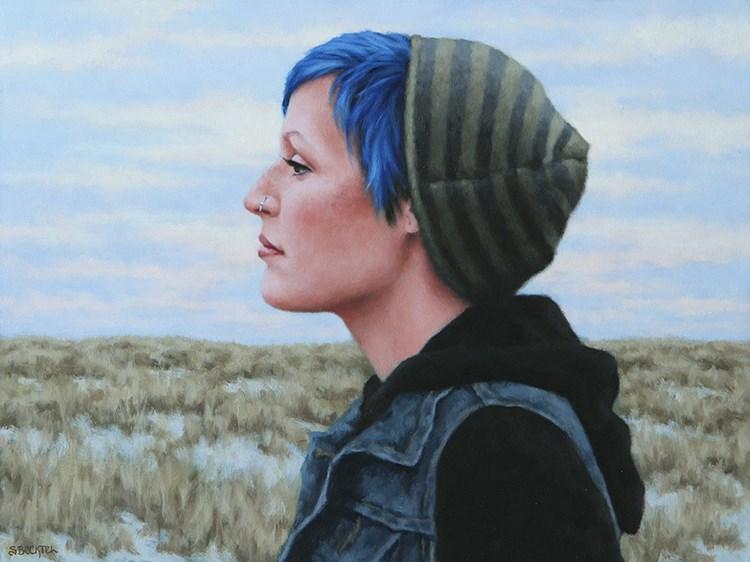 """""""Depart"""" original fine art by Sarah Becktel"""