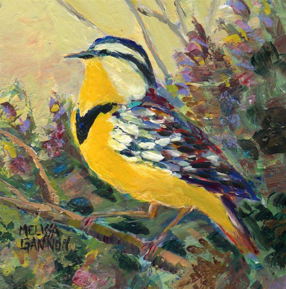 """Close to the Spring"" original fine art by Melissa Gannon"
