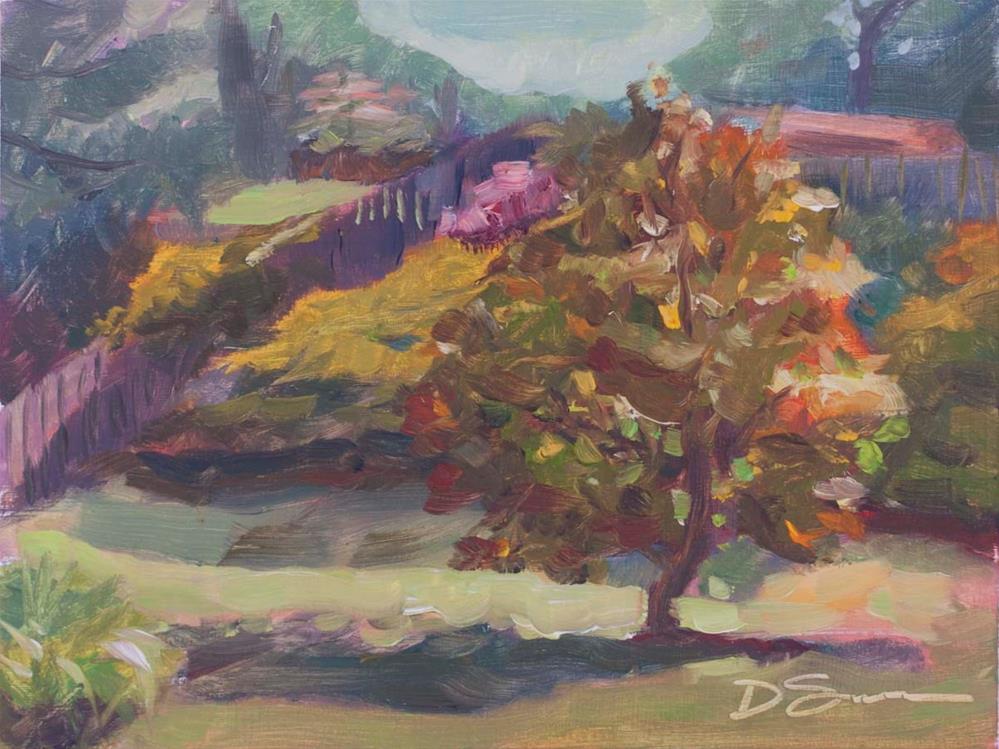 """Magnolia Tree 1"" original fine art by Deborah Savo"