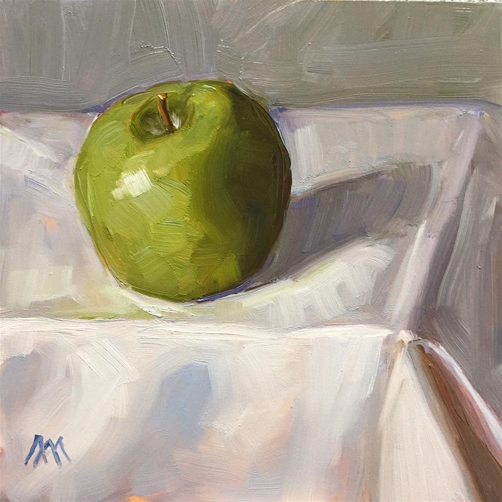 """The Lonely Apple"" original fine art by Austin Maloney"