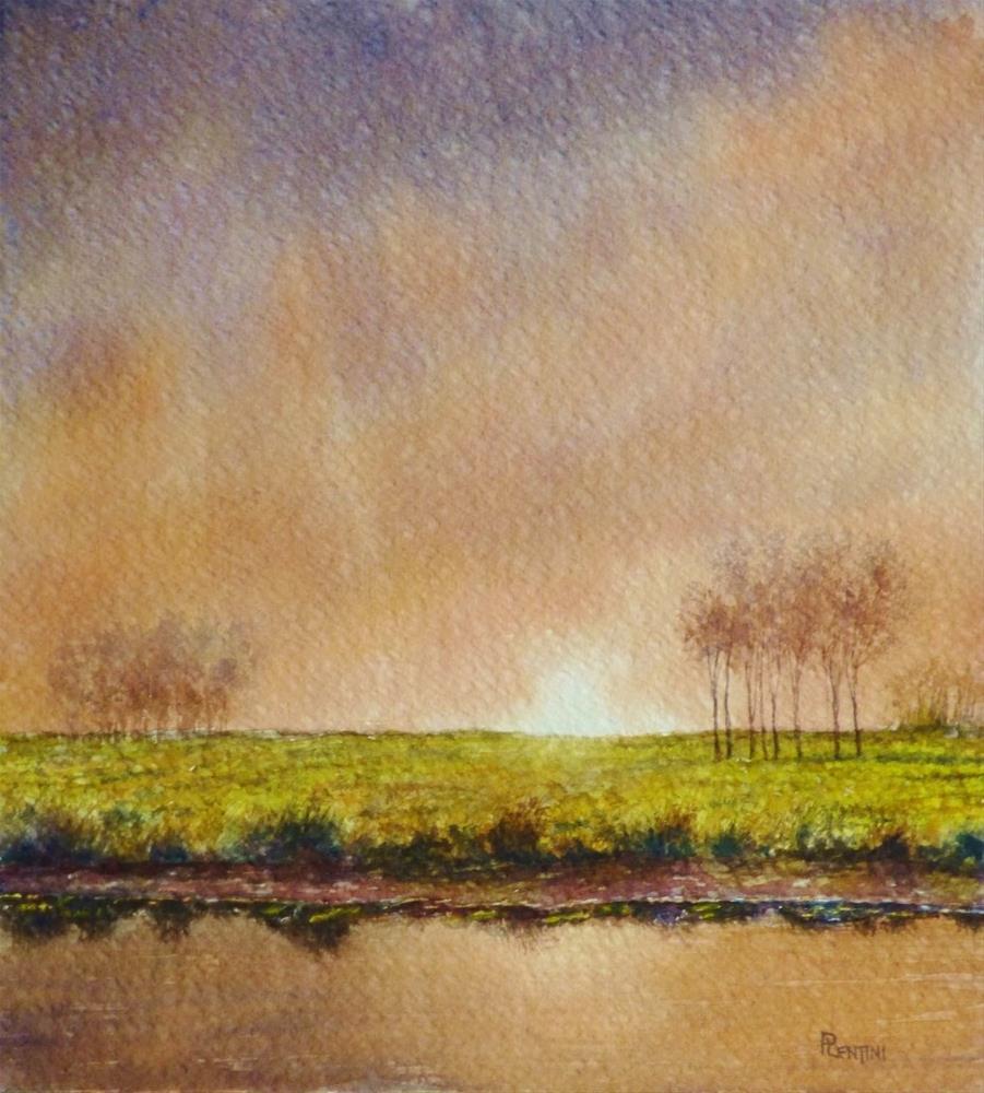 """Midwinter Passing"" original fine art by Peter Lentini"