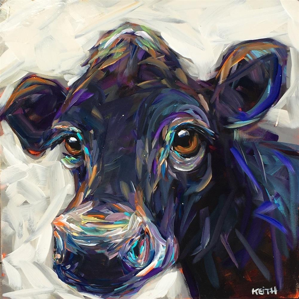 """Clover"" original fine art by Kandice Keith"