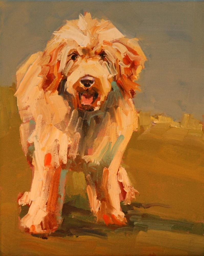 """""""doodle"""" original fine art by Carol Carmichael"""