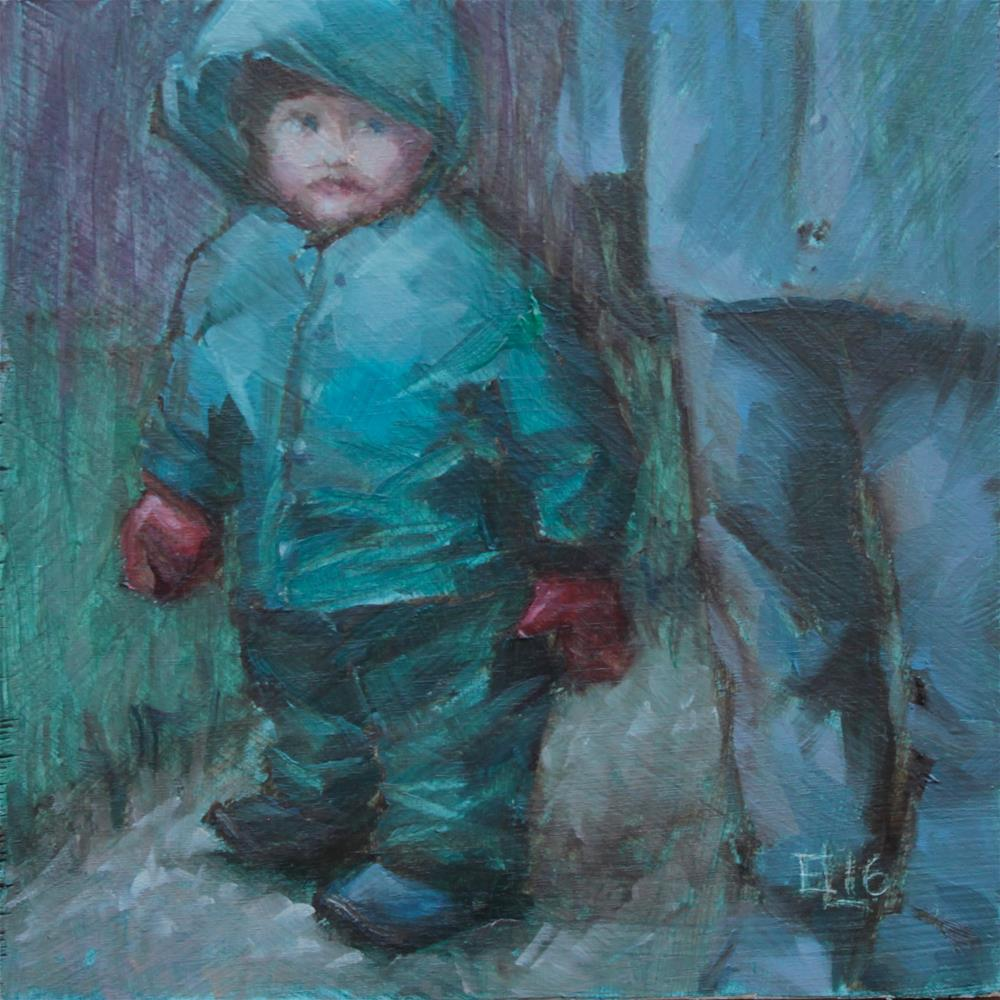 """No Matter the Weather"" original fine art by Emilia Leinonen"