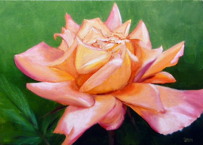 """""""Some Roses Are Forever"""" original fine art by Dalan Wells"""