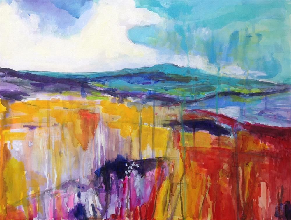 """Highland Landscape"" original fine art by Patricia MacDonald"