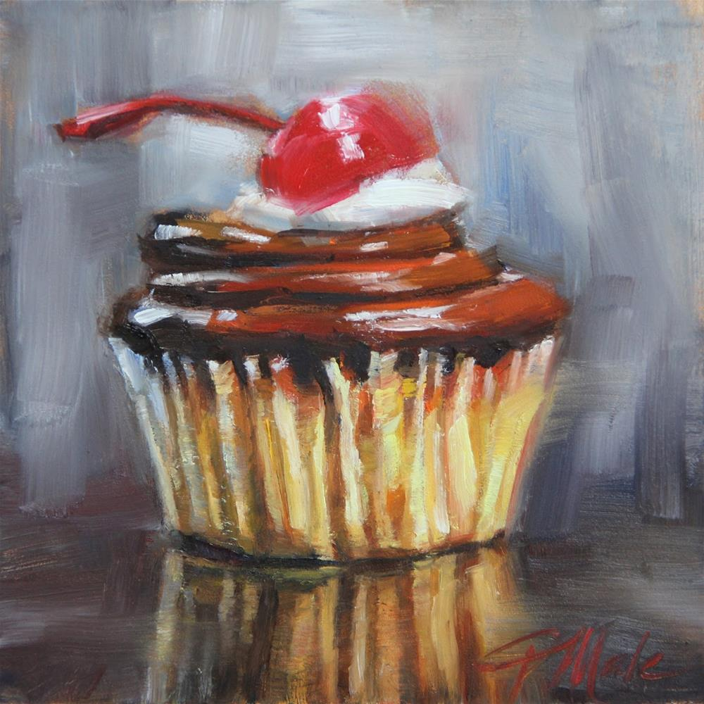 """""""With a Cherry On Top"""" original fine art by Tracy Male"""