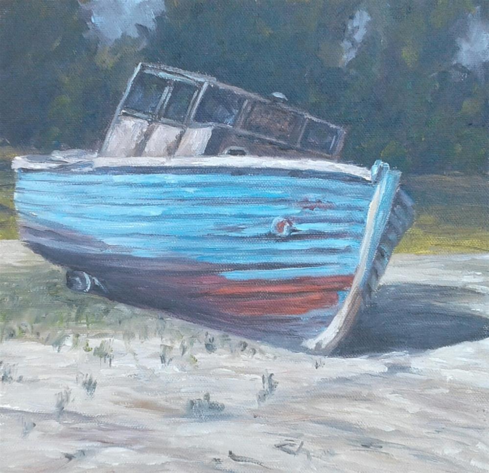 """Beached"" original fine art by Candi Hogan"