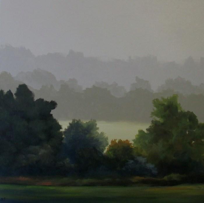 """""""Shelterbelt"""" original fine art by ~ces~ Christine E. S. Code"""
