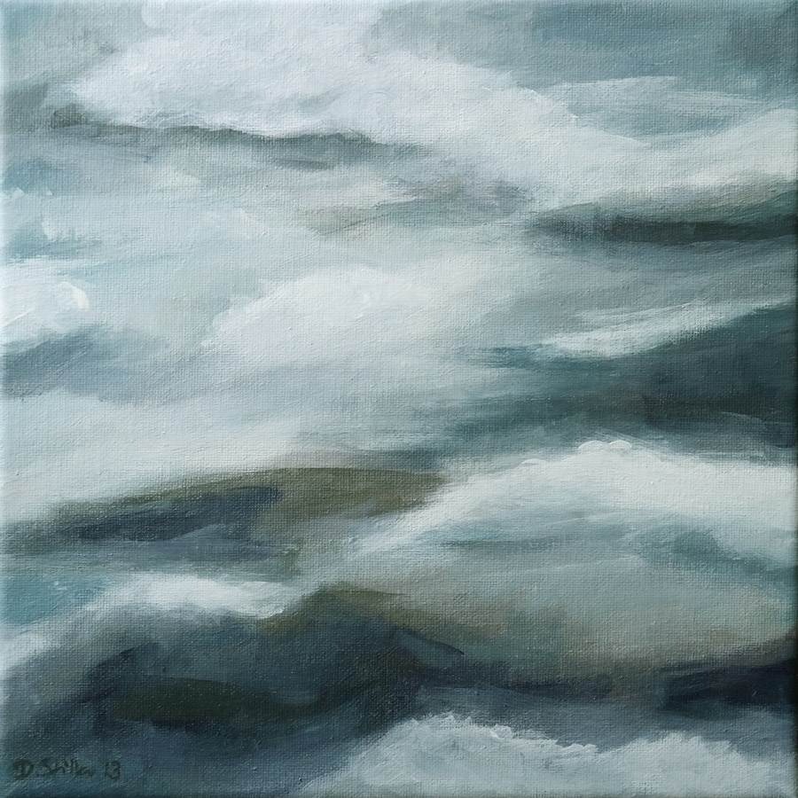 """0781 GreyDay"" original fine art by Dietmar Stiller"