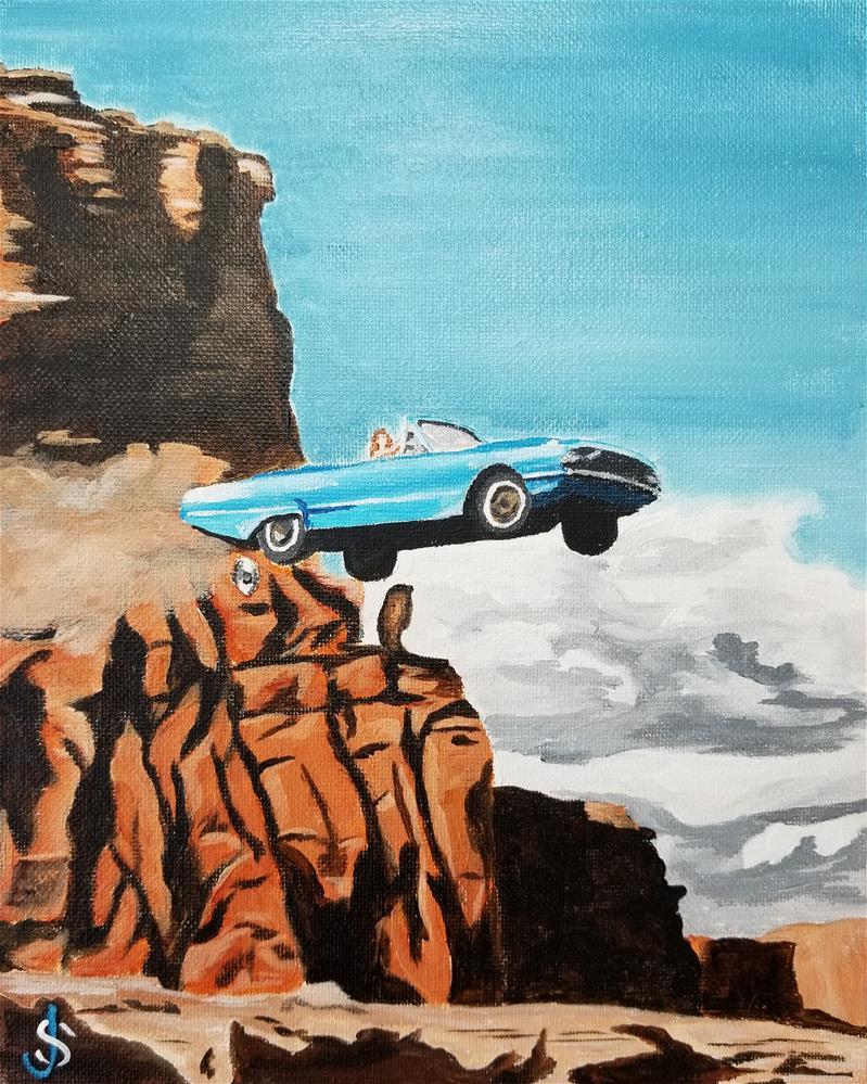 """Let's Keep Going"" original fine art by Jeff Strzelczyk"