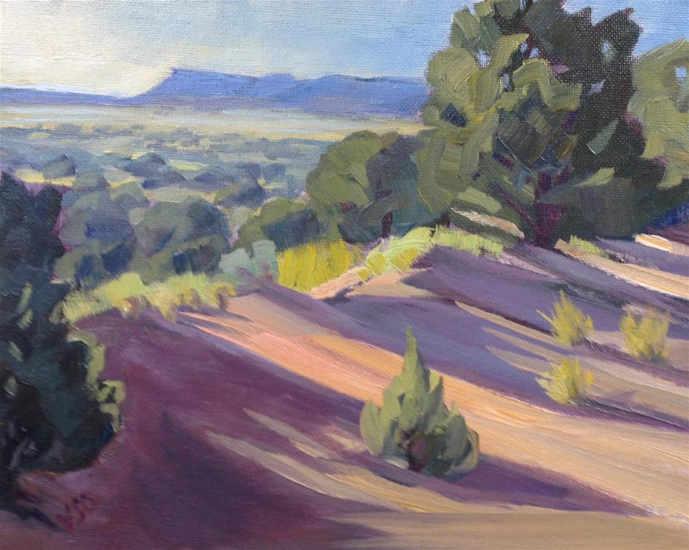 """Long View"" original fine art by Valerie Orlemann"