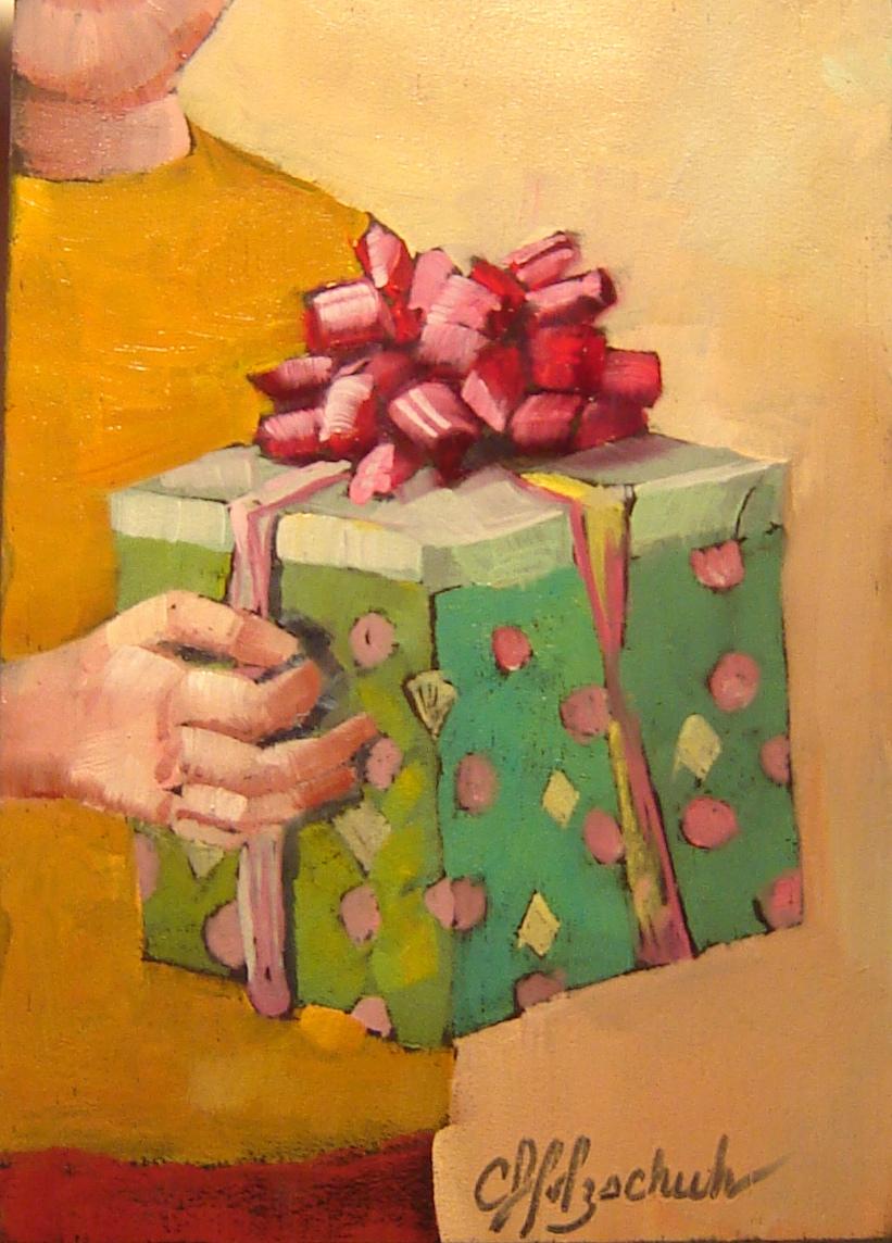 """Temptation"" original fine art by Christine Holzschuh"