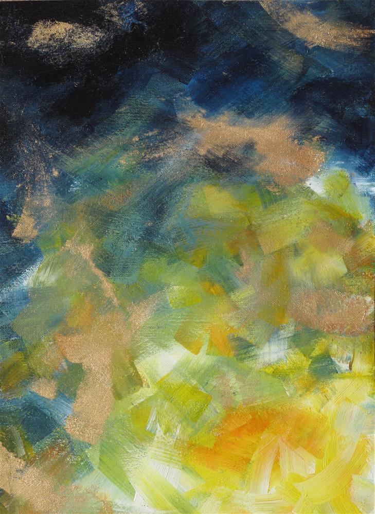 """Awakening"" original fine art by Anna Starkova"
