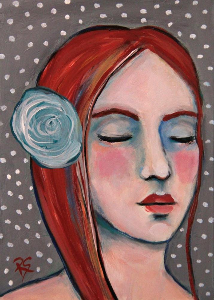 """Hope and Dreams"" original fine art by Roberta Schmidt ArtcyLucy"