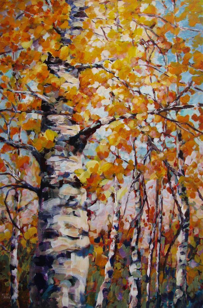 """Embracing the Light"" original fine art by Melissa Gannon"