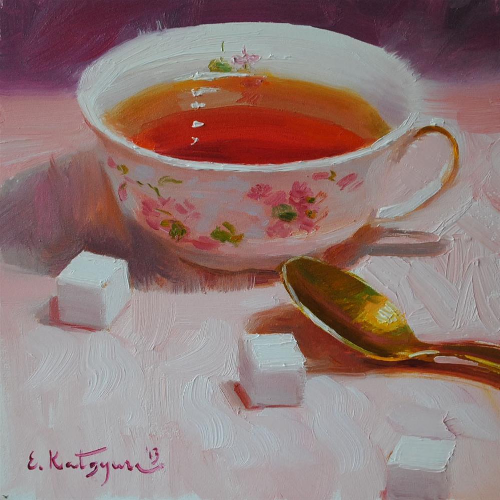 """Sugar?"" original fine art by Elena Katsyura"