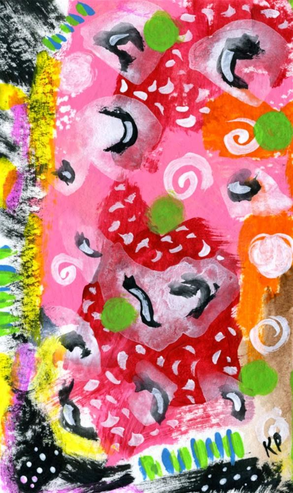 """""""In the Background"""" original fine art by Kali Parsons"""