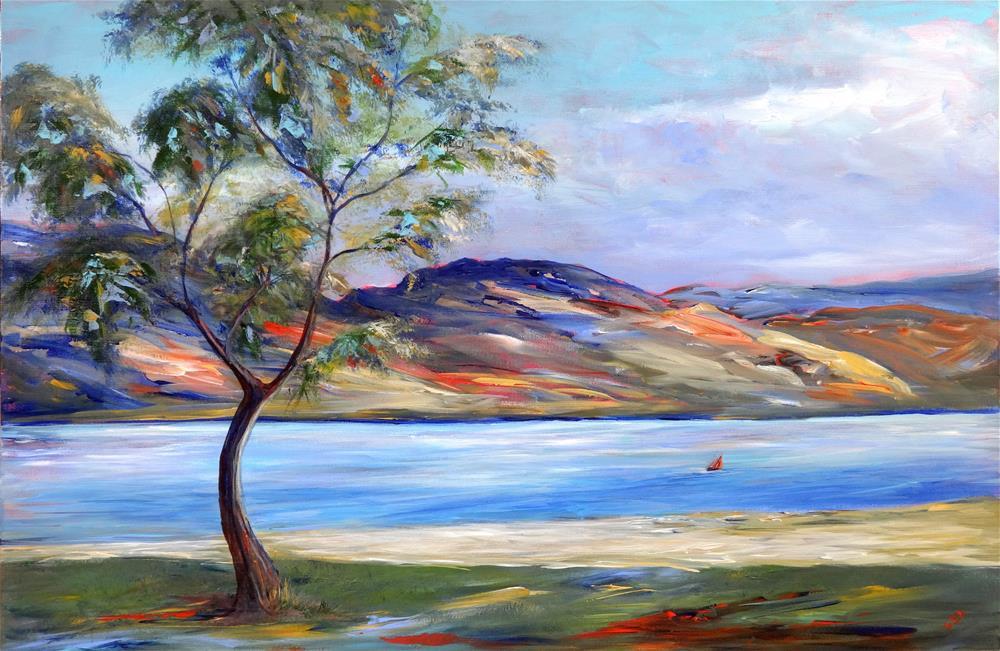 """2068 - Summer Breeze - Premium"" original fine art by Sea Dean"