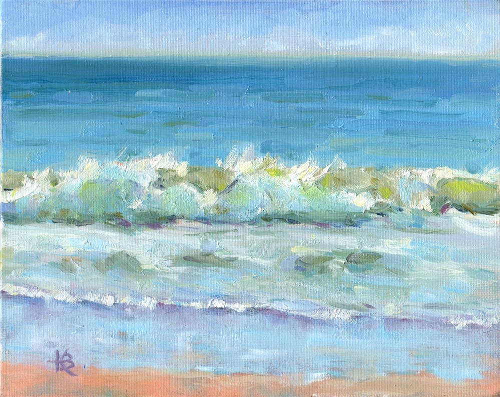 """Splash"" original fine art by Kathy Bodamer"