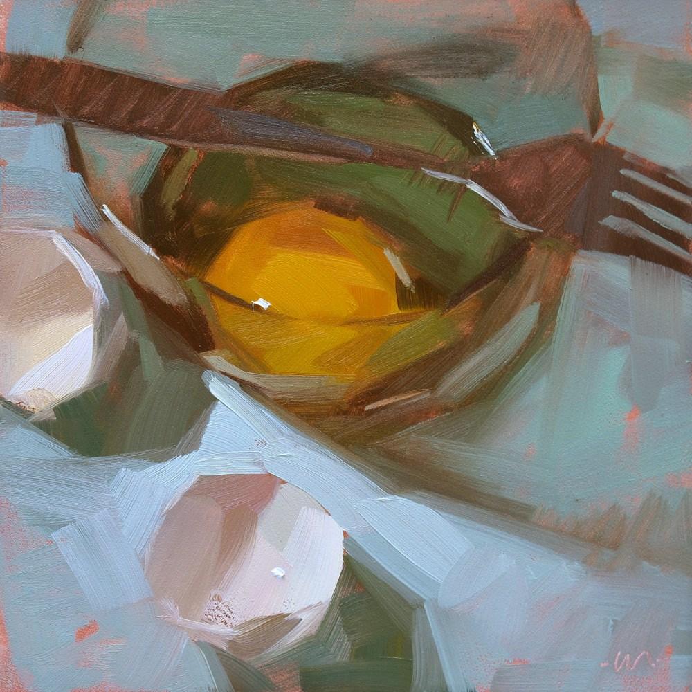 """Forked Over"" original fine art by Carol Marine"