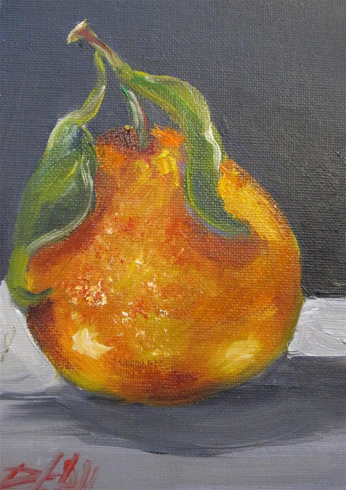 """Orange No. 7"" original fine art by Delilah Smith"