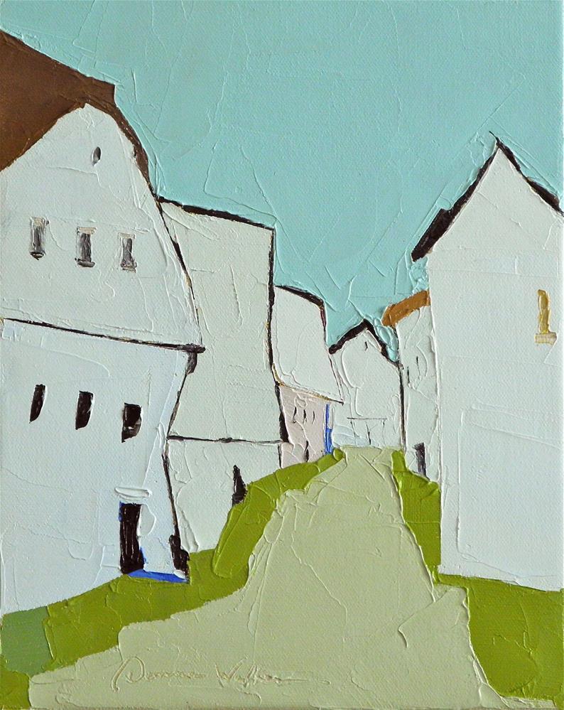 """""""White Barn Suite"""" original fine art by Donna Walker"""