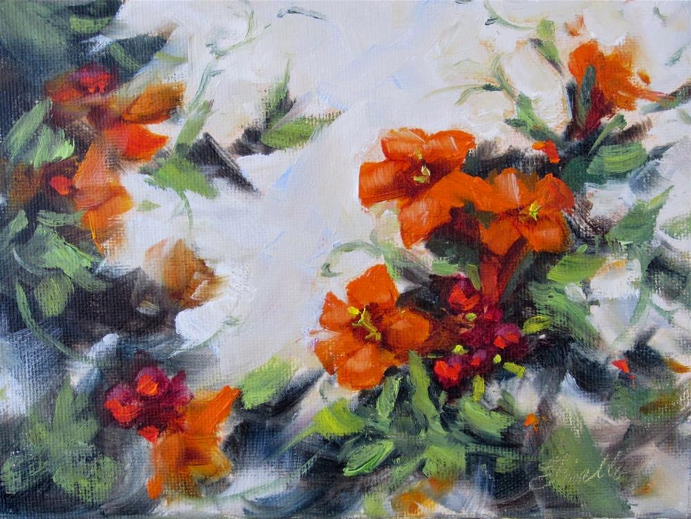 """Trumpet Song"" original fine art by Pat Fiorello"